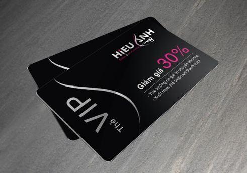 In thẻ VIP bằng nhựa chuyên nghiệp HCM