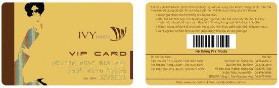 Dịch vụ in thẻ VIP chuyên nghiệp HCM