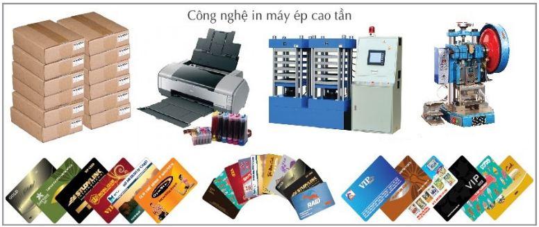 Xưởng in thẻ nhựa PVC Gò Vấp