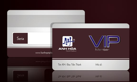 Dịch vụ in thẻ nhựa VIP giá rẻ HCM