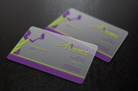 Báo giá in name card nhựa