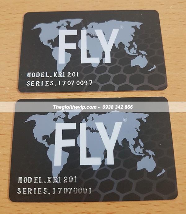 In thẻ khách hàng thân thiết cho cửa hàng toàn quốc