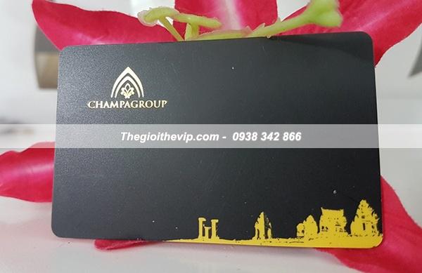 In thẻ VIP chuyên nghiệp cho Spa TPHCM