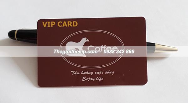 in thể vip card