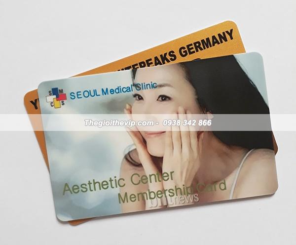 In thẻ vip chất lượng phải có kích thước phù hợp