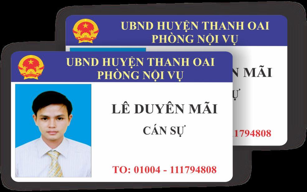 in thẻ nhân viên TPHCM